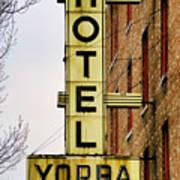 Hotel Yorba Poster