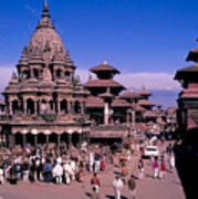 Kathmandu In Nepal Poster