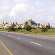 Landscape In Tanzania Poster