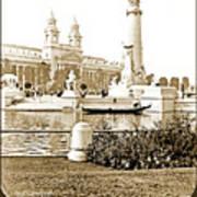 Louisiana Monument, 1904 World's Fair Poster
