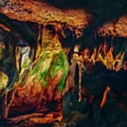 Marble Cave Crimea Poster