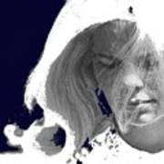 Margie In Repose Tucson Arizona 1969-2012 Poster