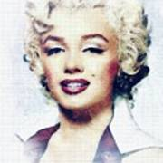 Marilyn Monroe, Actress And Model Poster