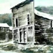 Marysville Ghost Town Montana Poster