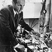 Melvin Calvin, American Chemist Poster