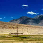 Mountains Of Leh Ladakh Jammu And Kashmir India Poster