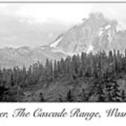 Mt. Baker, Cascade Range, Late Afternoon Poster