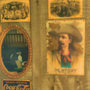 Old West Antiques Poster