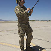 Pararescuemen Conducts A Communications Poster