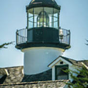 Point Pinos Lighthouse In Monterey California Poster
