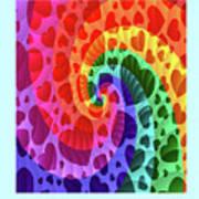 Rainbow Love Poster