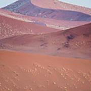 Sand Dune, Sossusvlei, Namib Desert Poster
