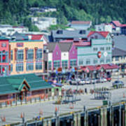 Scenery Around Alaskan Town Of Ketchikan Poster