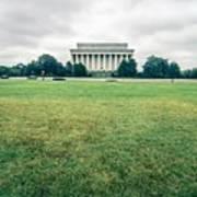 Scenes Around Lincoln Memorial Washington Dc Poster