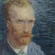 Self-portrait Paris July   August 1887 Vincent Van Gogh 1853  1890 Poster