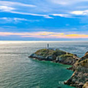 South Stack Lighthouse Poster by Gary Finnigan