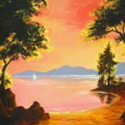 Spirit  Lake Poster