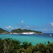 St. Marrten Caribbean Island Poster
