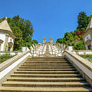 Staircase Of Bom Jesus Do Monte Poster
