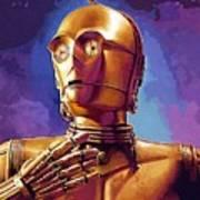 Star Wars Episode 2 Art Poster