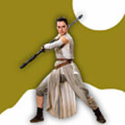 star Wars Rey Collection Poster