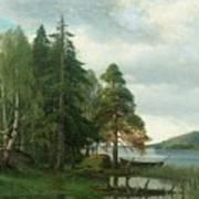 Summer Landscape Poster