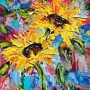 Sunflower Joy Poster