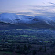 The Galtees  Ireland's Tallest Inland Mountains Poster