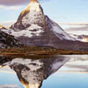 The Matterhorn Mountain In Switzerland Poster