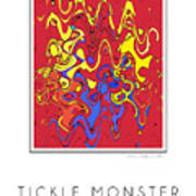 Tickle Monster Poster