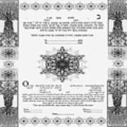 tree of life ketubah-Reformed and Interfaith version Poster