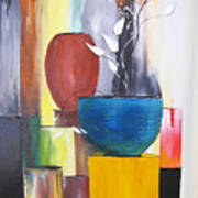 3 Vases Poster