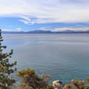 View Across Lake Tahoe Poster