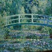 Water Lilies And Japanese Bridge Poster