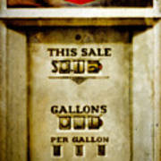 31 Cents A Gallon Poster