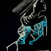 Dinka Lady - South Sudan Poster