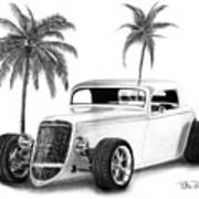 33 Ford Coupe Poster