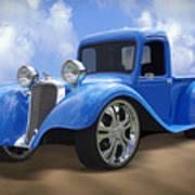 34 Dodge Pickup Poster