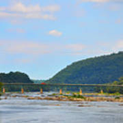 340 Bridge Harpers Ferry Poster by Bill Cannon