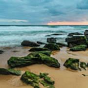Dawn Seascape Poster
