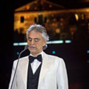 Andrea Bocelli In Concert Poster