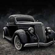 36 Ford Five Window Poster