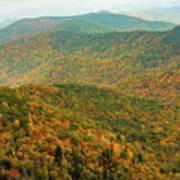 North Carolina Fall Colors Poster