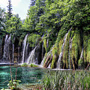 Plitvice Lakes National Park Croatia Poster