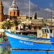 Valletta, Malta Poster