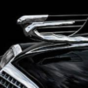 37 Cadillac Hood Angel Poster