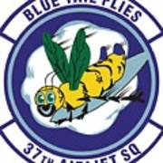 37th Tactical Airlift Squadron Poster