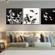 3d Wall Decor Painting Y1921a Poster