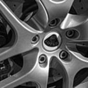 2011 Lotus Euora Wheel Emblem Poster