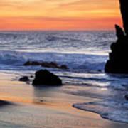 Adraga Beach In Sintra Natural Park Poster